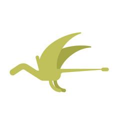 Pterosaur dinosaur isolated ancient animal dino vector