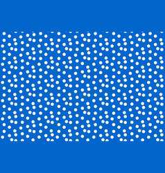 scattered dots blue polka background seamless vector image