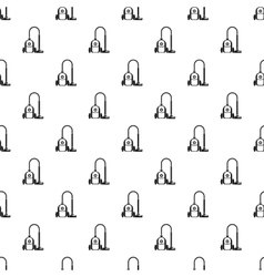 Vacuum cleaner pattern simple style vector