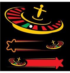 Casino symbol vector image vector image