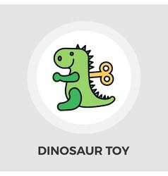 Dinosaurus flat icon vector image