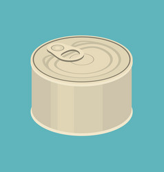 Cannedflat design vector