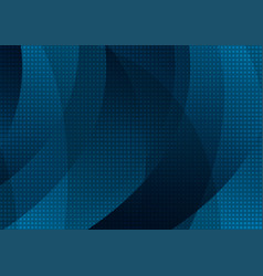 dark blue abstract wavy texture with squares vector image