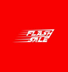 flash sale banner design vector image