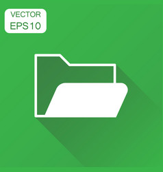 Folder document icon business concept archive vector