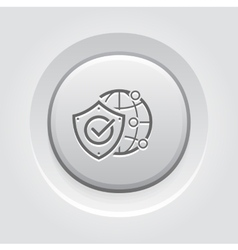 Global Protection Icon vector image