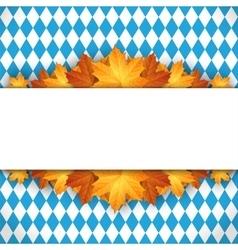 Oktoberfest design autumn vector