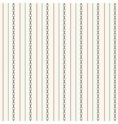 Seamless pattern with straight lines and anchor vector