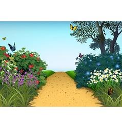 Summer Garden vector