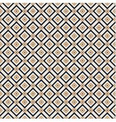 vintage cross lines gold pattern or vector image