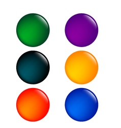 Colorful Buttons - vector image