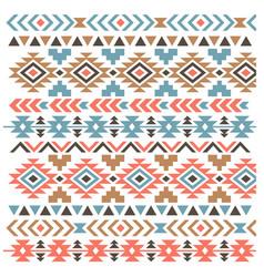 aztec boho pattern vintage aztec pattern vector image