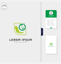 Baby parenting logo template and logo inspiration vector