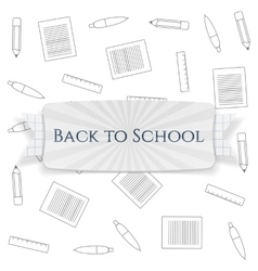 Back to School special Badge vector