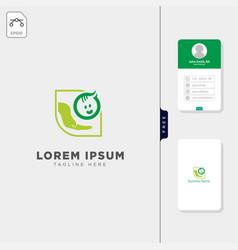 Baparenting logo template and logo inspiration vector