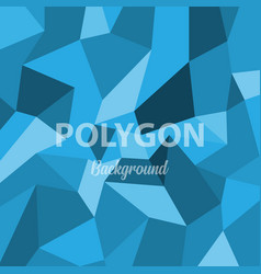 geometric polygon shape background vector image
