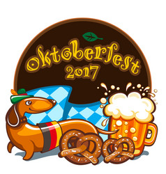 Oktoberfest celebration banner series vector