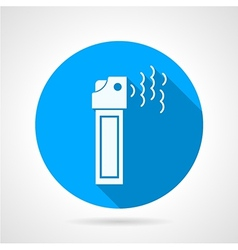 Tear pepper spray flat icon vector image