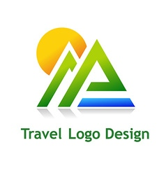 TravelDesign vector image