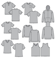 Long Sleeve T Shirt Vector Images Over 630
