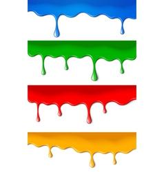 Color paints vector