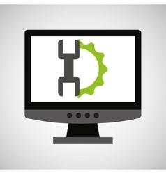 Computer web development support vector