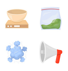 Electrical appliance war and other web icon in vector
