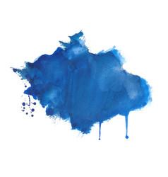 Hand drawn watercolor splatter texture background vector