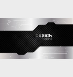 Metal frame border dimension carbon texture vector