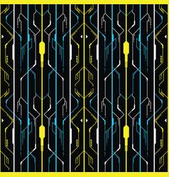 modern geometric technology design vector image