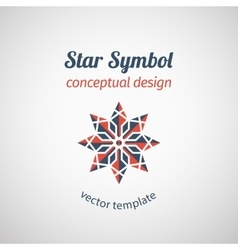 Ornamental Star Logo vector