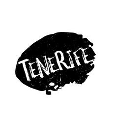 Tenerife rubber stamp vector