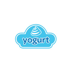 yogurt-logo vector image