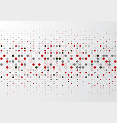 abstract technology background with red and gray vector image