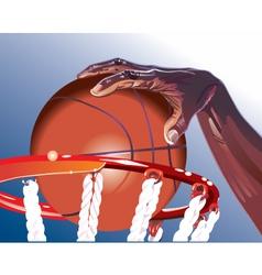 Basketball illustration vector