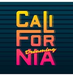 California vector image vector image