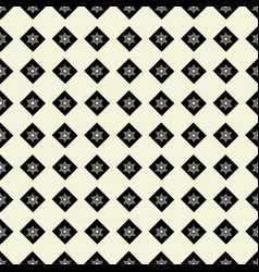 Seamless pattern of geometric shapes on a light ba vector