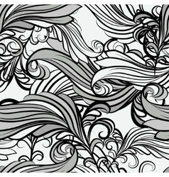 floral seamless pattern2 vector image