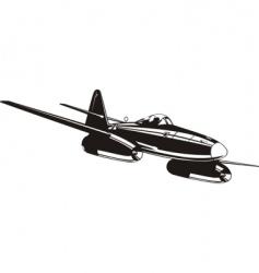 Messerschmitt Me262 vector image vector image