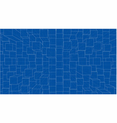 Abstract background cubes outline vector