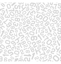 Abstract Background with Numbers Seamless vector