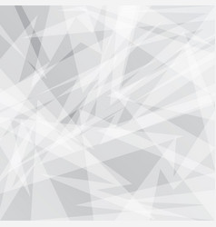 abstract grey geometric background with triangles vector image