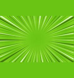 Bright green exploding retro comic background vector