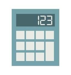 calculator icon isolated icon design vector image