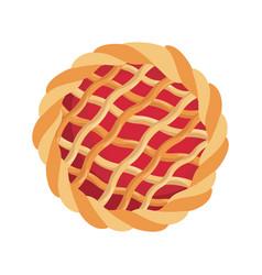Deliciou pie dessert vector
