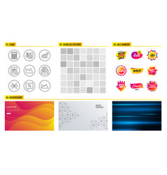 discount message accounting wealth and demand vector image