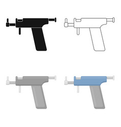 ear piercing gun icon cartoon single tattoo icon vector image
