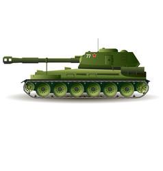 military tank war kill vector image