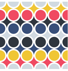 pop art seamless colorful pattern - repeatable vector image