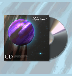 space envelope for cdcreative abstract card vector image